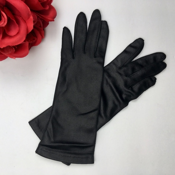 1db9e0b2f Van Raalte Accessories | Vintage Black Nylon Silk Gloves 65 | Poshmark